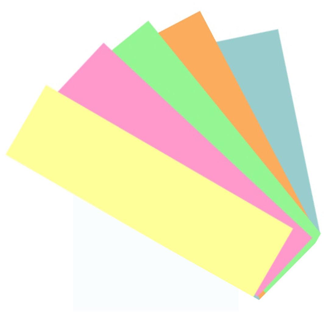 rechteck karten bunt helle farben 180 blatt owb shop. Black Bedroom Furniture Sets. Home Design Ideas
