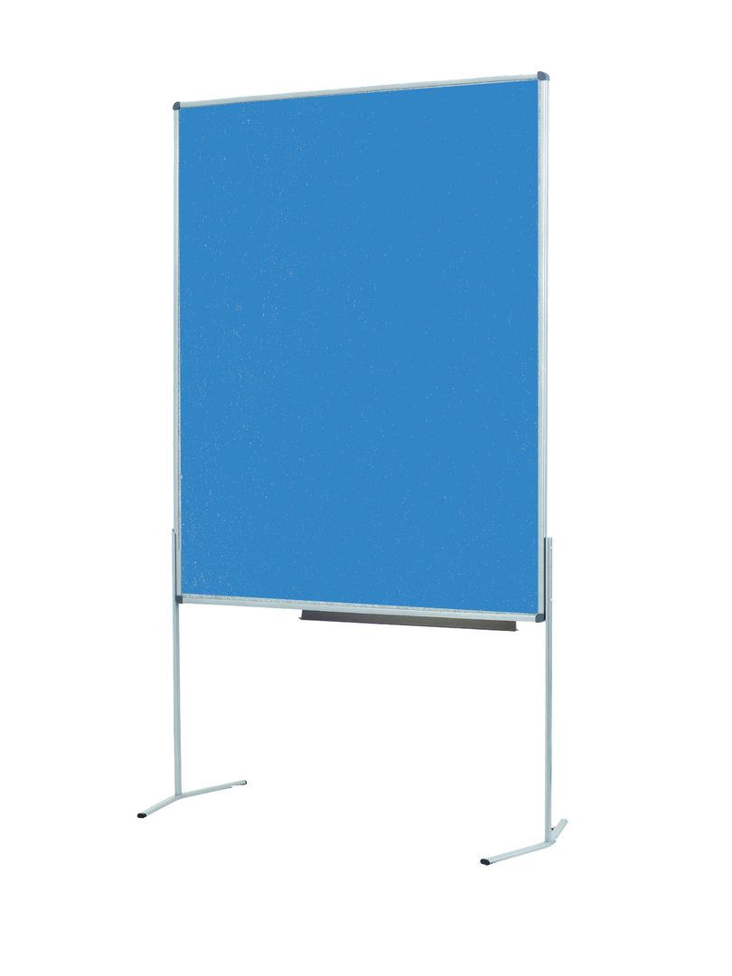 pinnwand competent mit standbeinen mit ablage owb shop. Black Bedroom Furniture Sets. Home Design Ideas